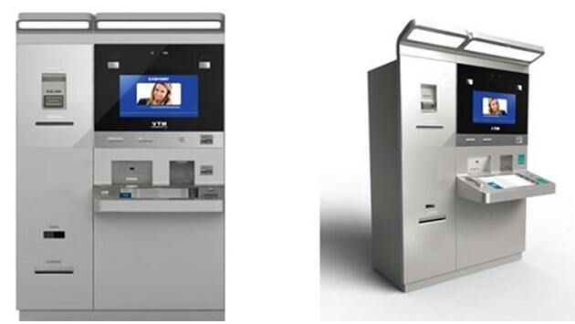 钱箱进行单独的保险箱设计;    四 人机工程学原理设计,外观时尚,科技